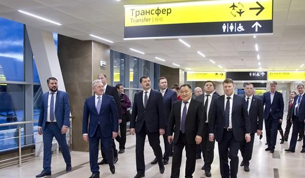 Встреча в аэропорту Киева